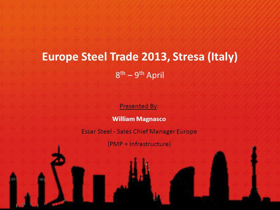 Europe Steel Trade 2013, Stresa (Italy)