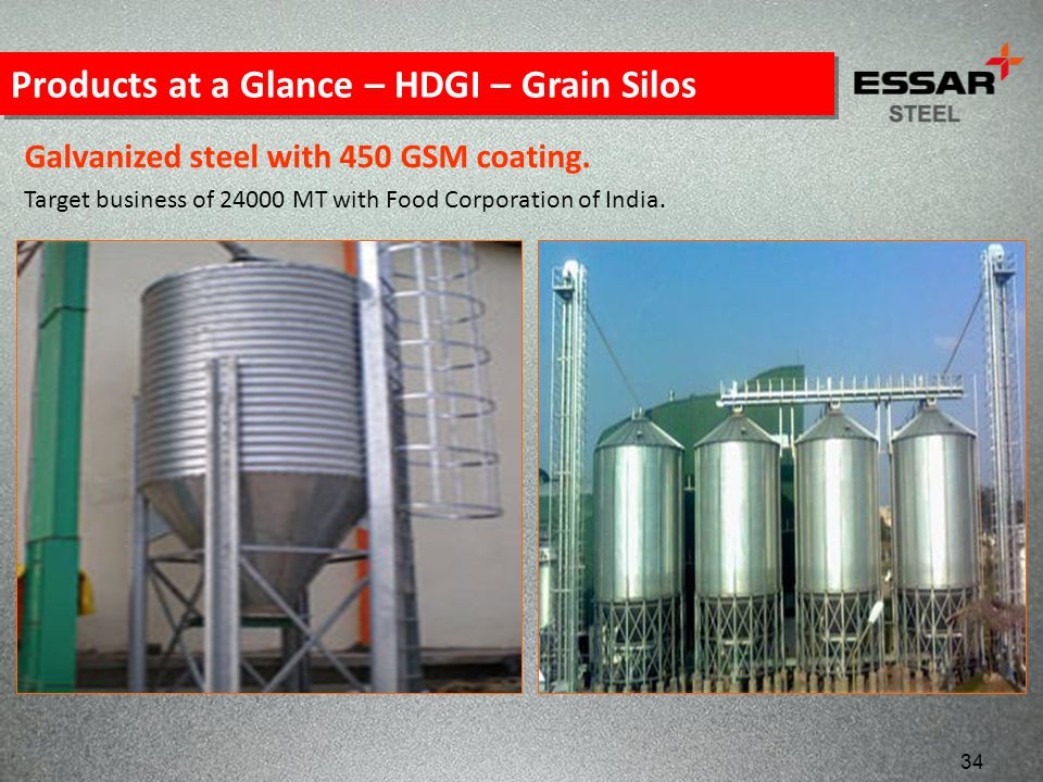 Products at a Glance – HDGI – Grain Silos