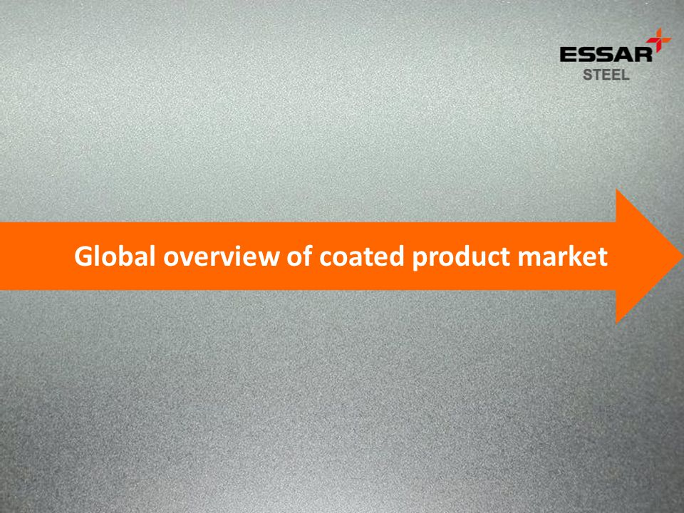 Global overview of coated product market