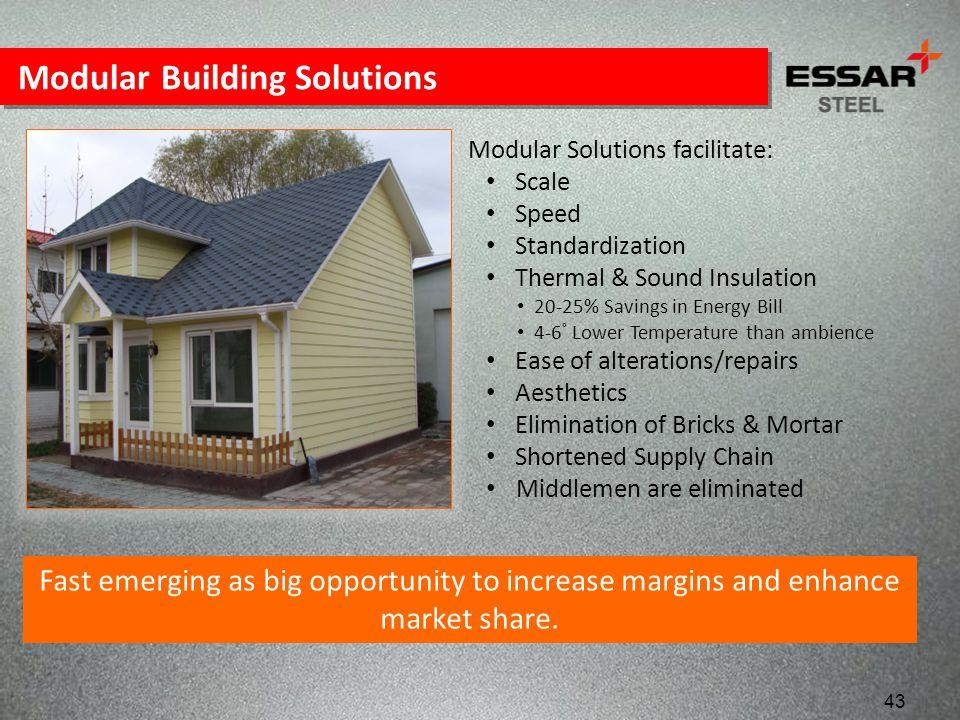 Modular Building Solutions