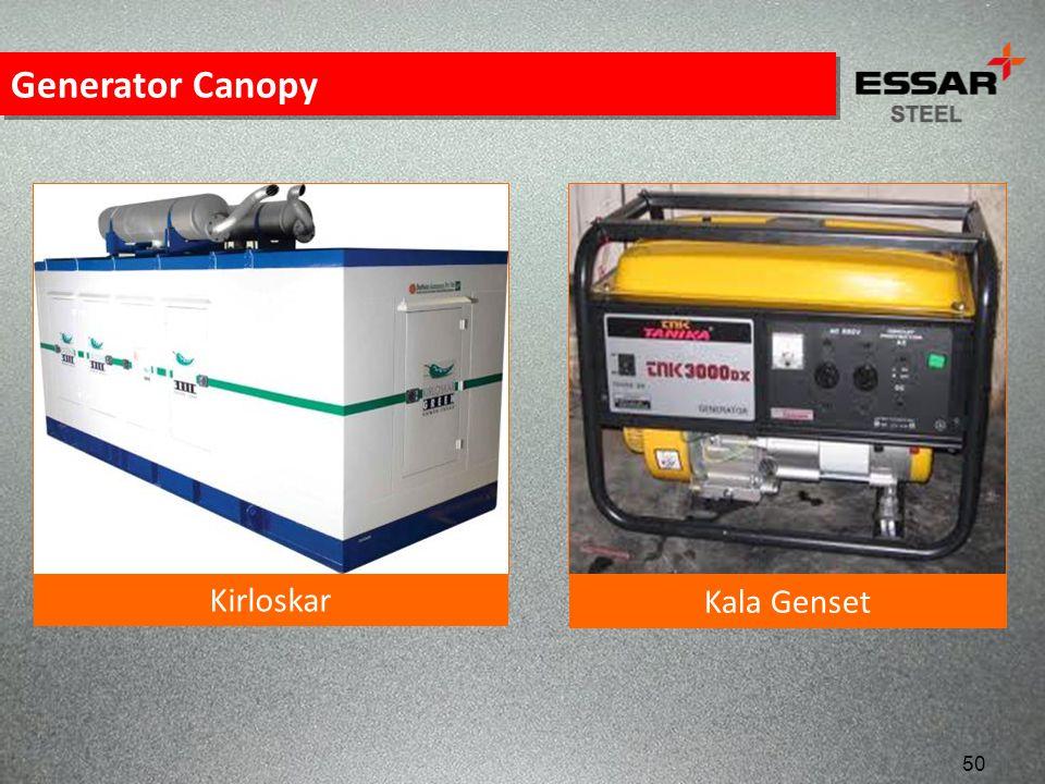 Generator Canopy Kirloskar Kala Genset