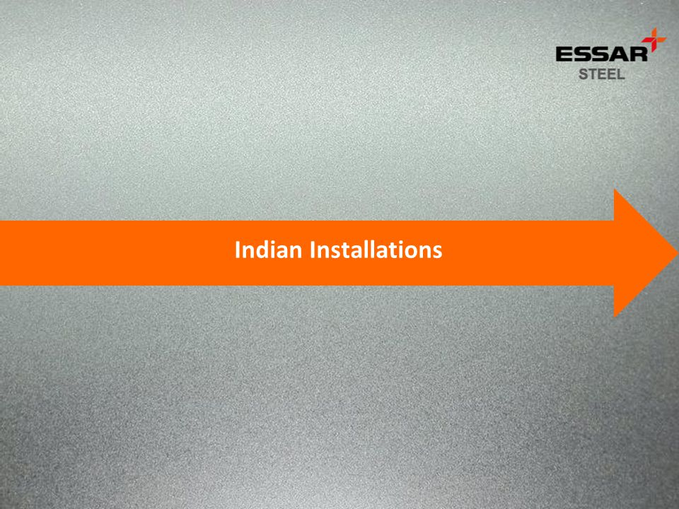Indian Installations