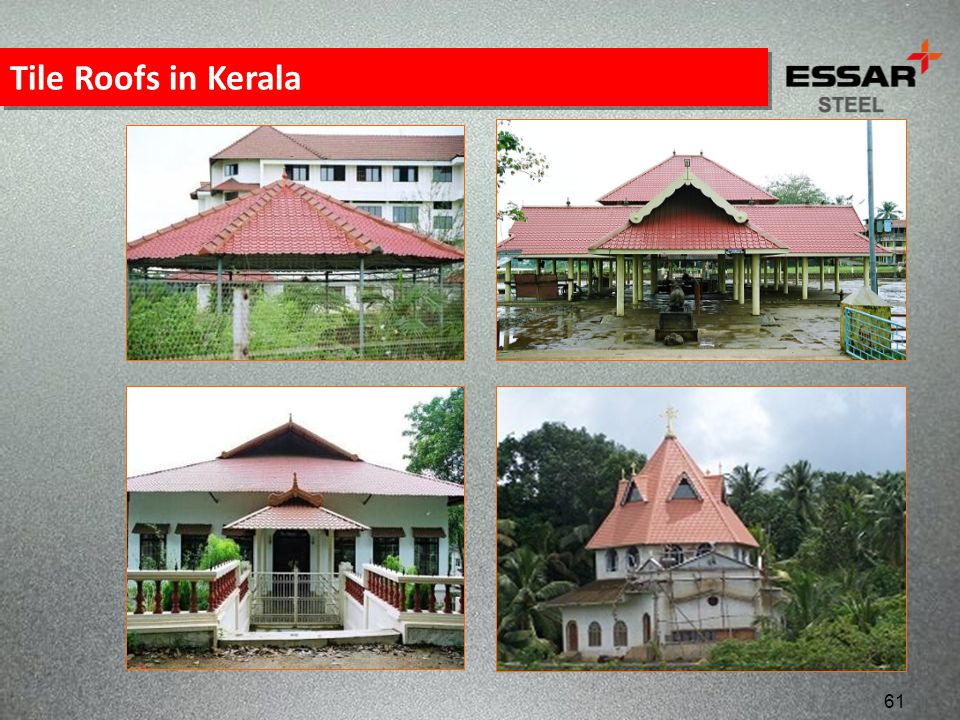 Tile Roofs in Kerala