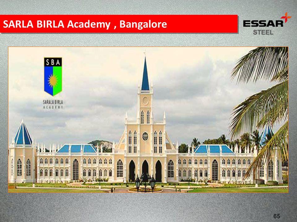 SARLA BIRLA Academy , Bangalore