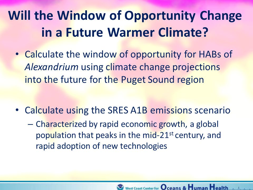 Will the Window of Opportunity Change in a Future Warmer Climate