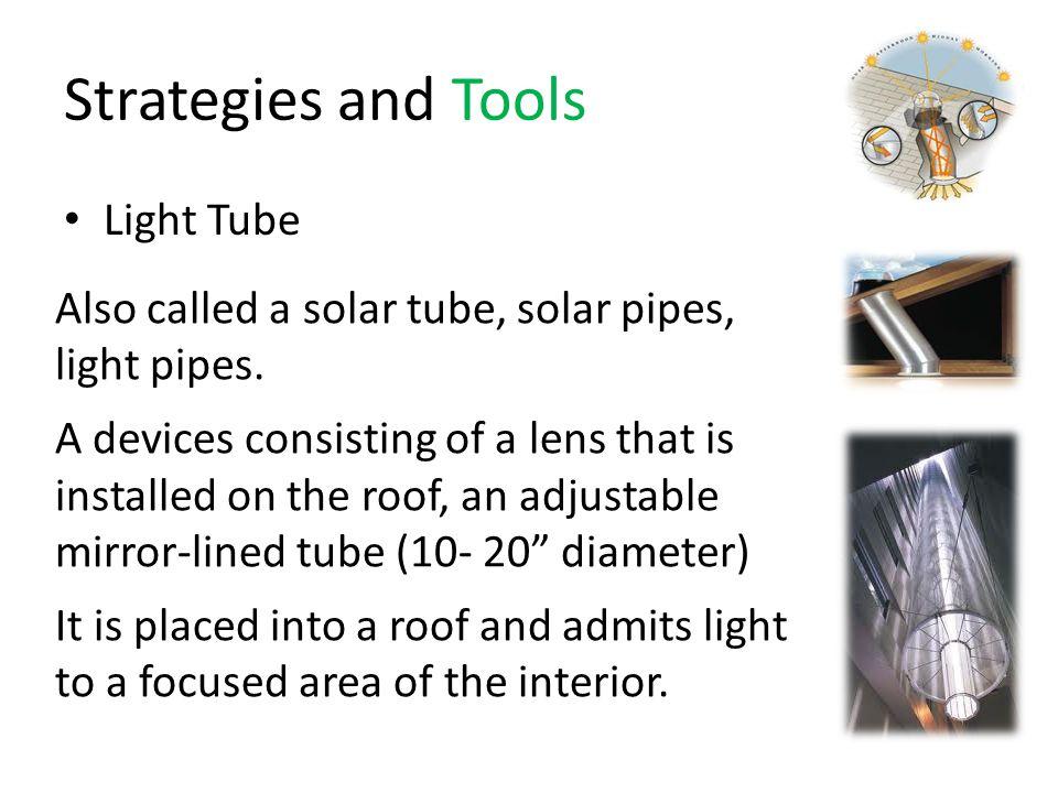 Strategies and Tools Light Tube