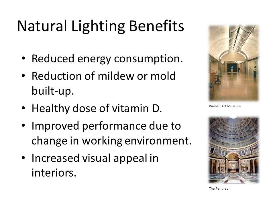 Natural Lighting Benefits