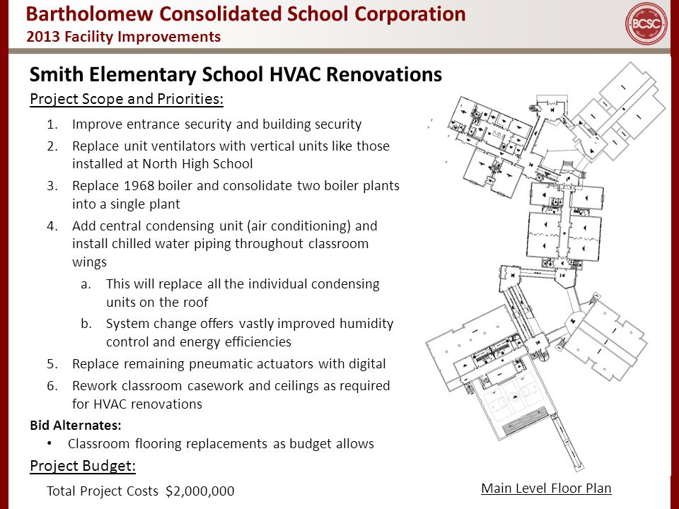 Smith Elementary School HVAC Renovations