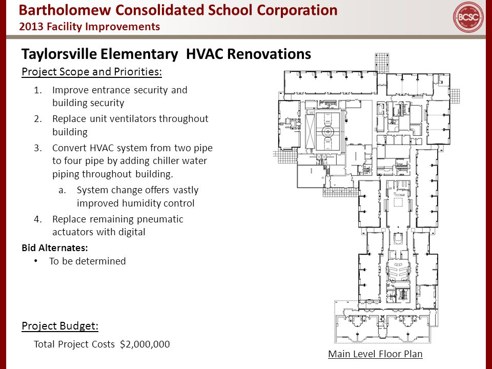 Taylorsville Elementary HVAC Renovations