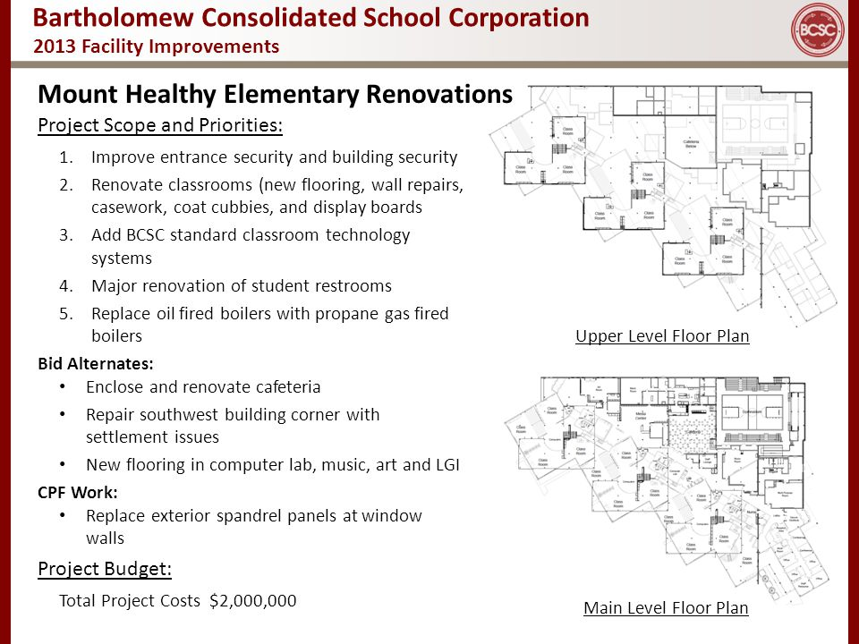 Mount Healthy Elementary Renovations