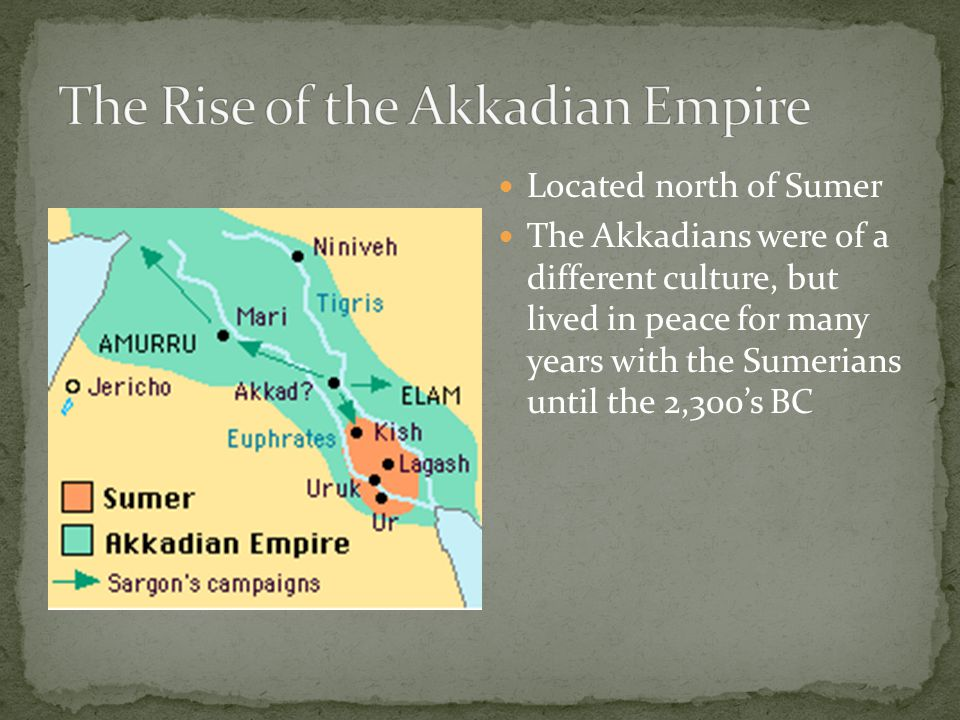The Rise of the Akkadian Empire