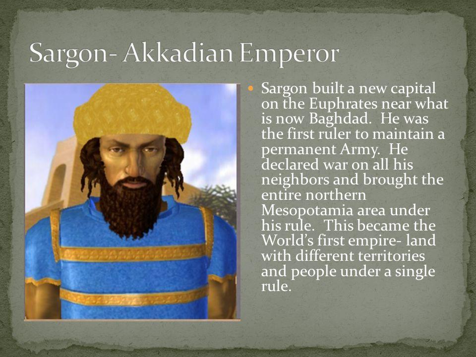 Sargon- Akkadian Emperor