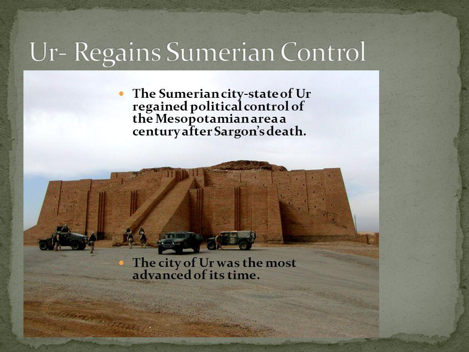 Ur- Regains Sumerian Control