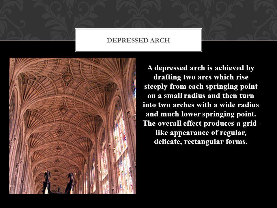 Depressed arch