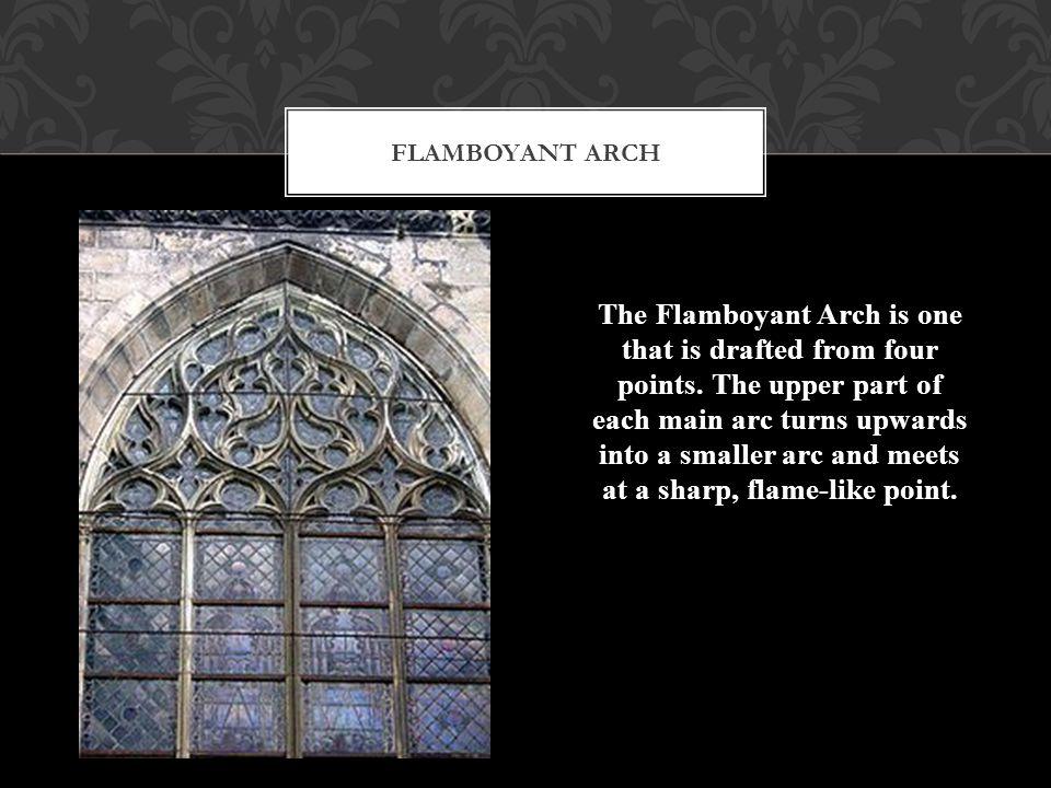 Flamboyant arch