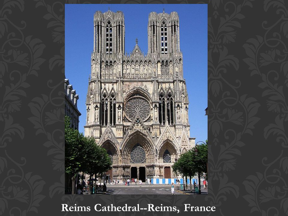 Reims Cathedral--Reims, France