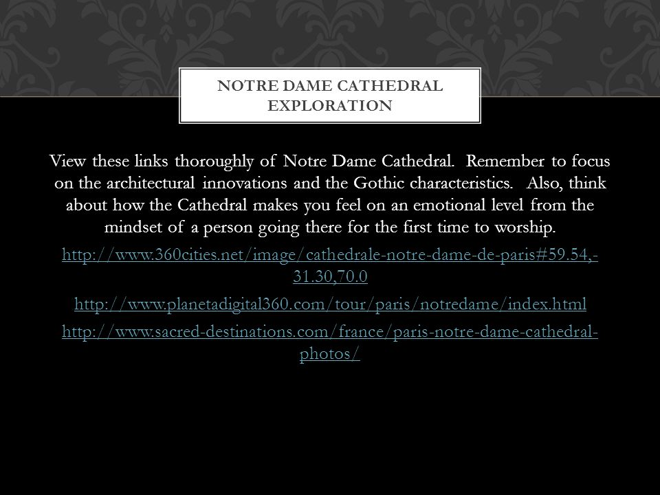 Notre Dame Cathedral Exploration