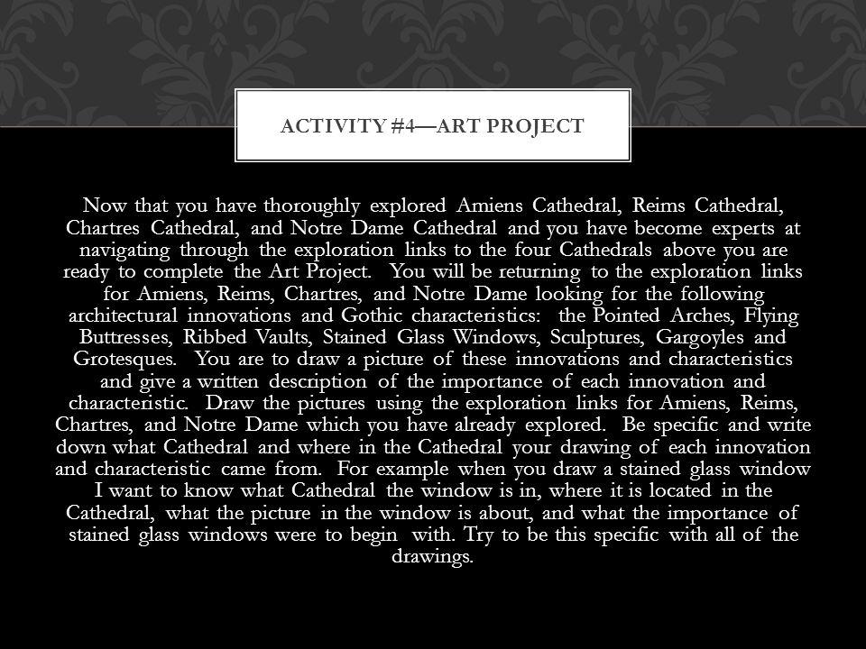 Activity #4—Art Project