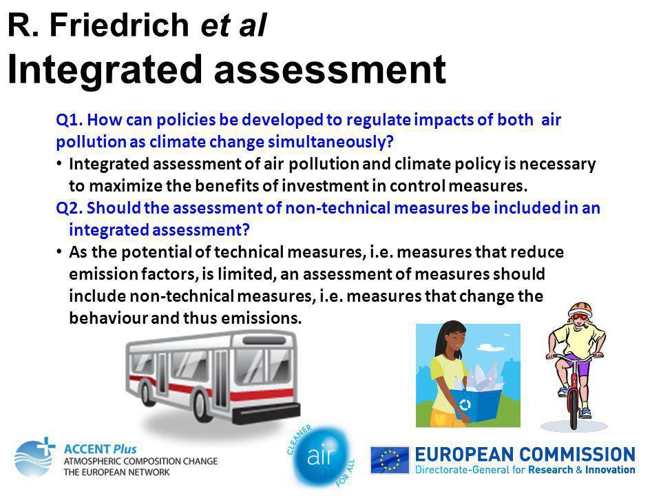 R. Friedrich et al Integrated assessment