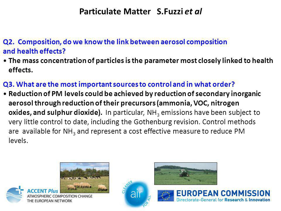 Particulate Matter S.Fuzzi et al