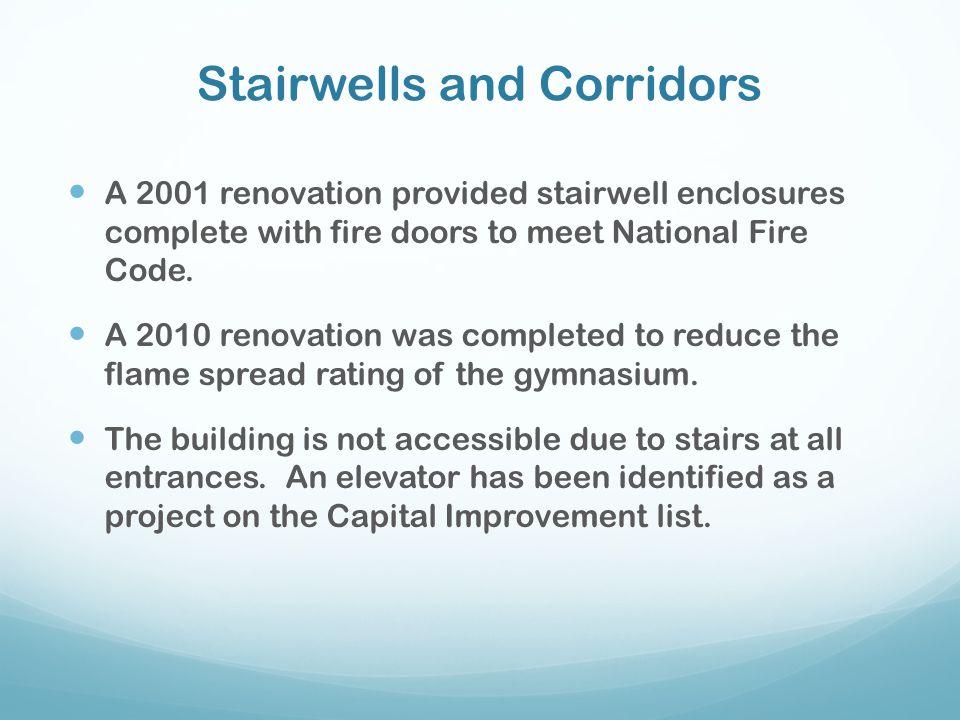 Stairwells and Corridors
