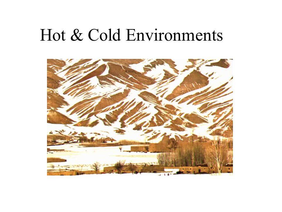 Hot & Cold Environments