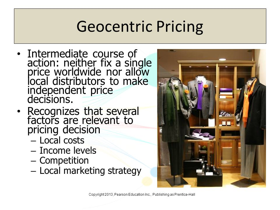 Geocentric Pricing