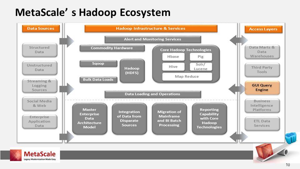 MetaScale' s Hadoop Ecosystem