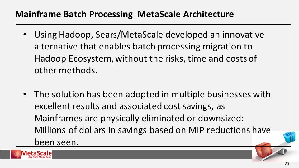 Mainframe Batch Processing MetaScale Architecture