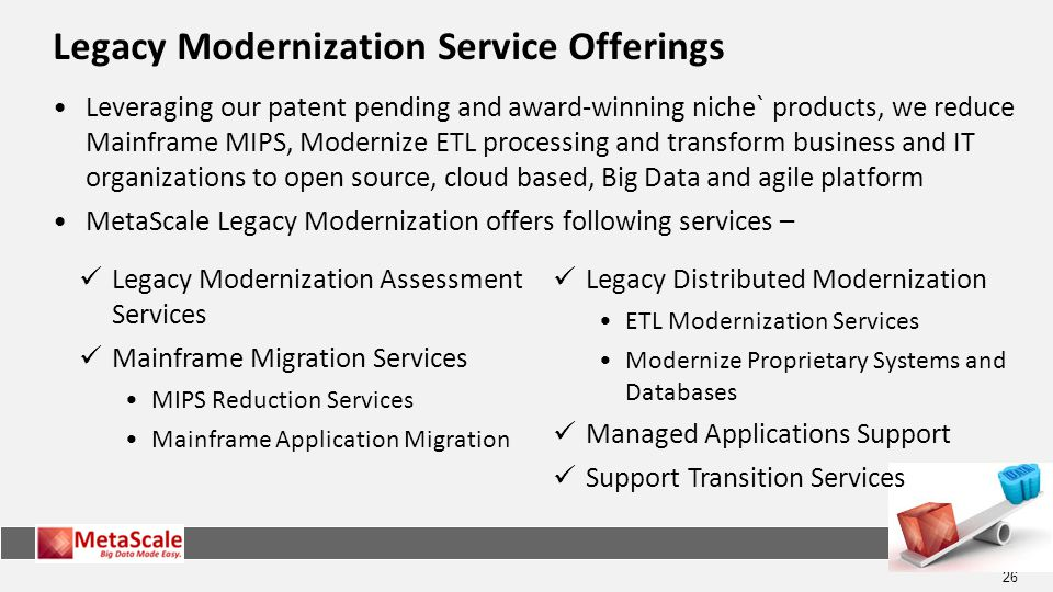 Legacy Modernization Service Offerings