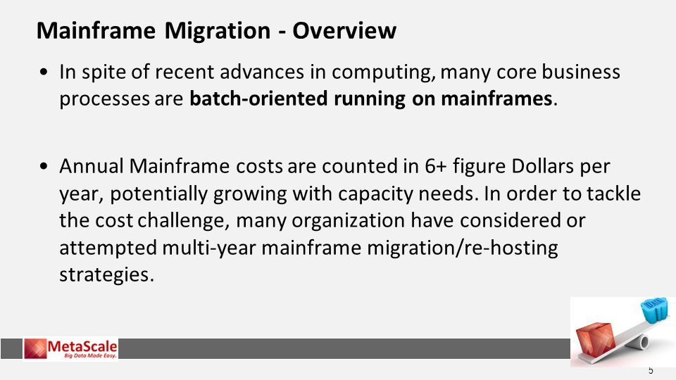 Mainframe Migration - Overview