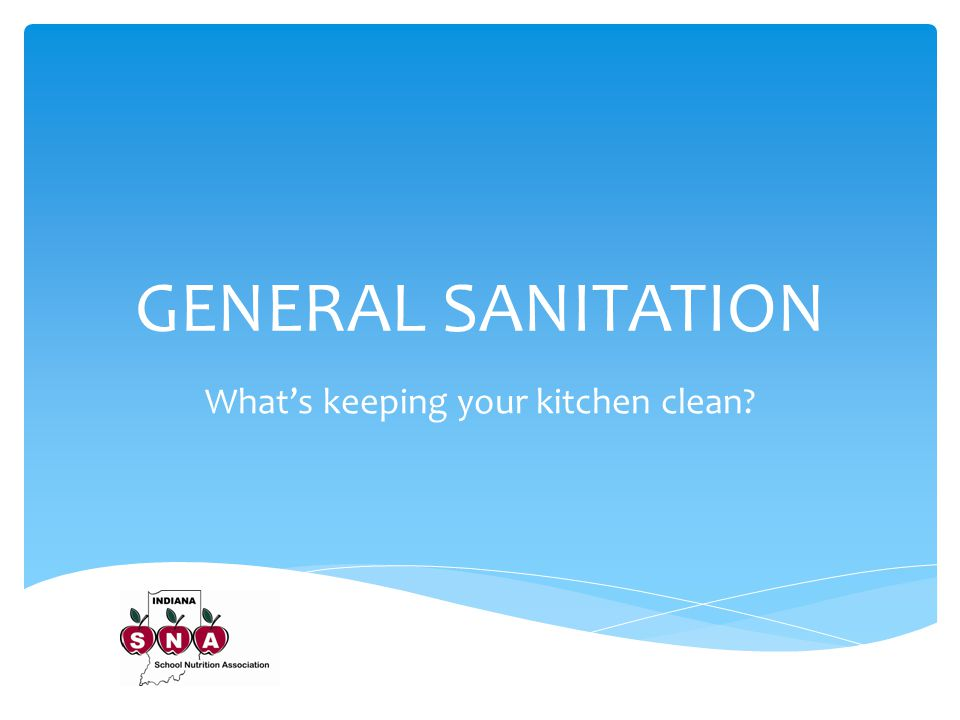 What's keeping your kitchen clean