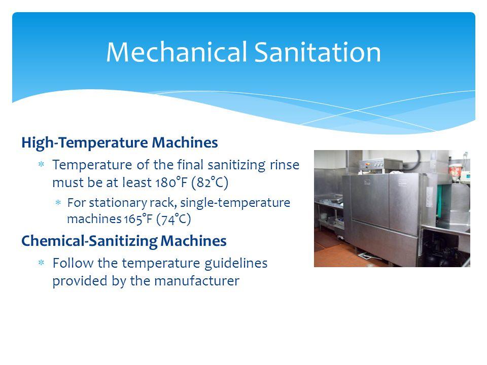 Mechanical Sanitation