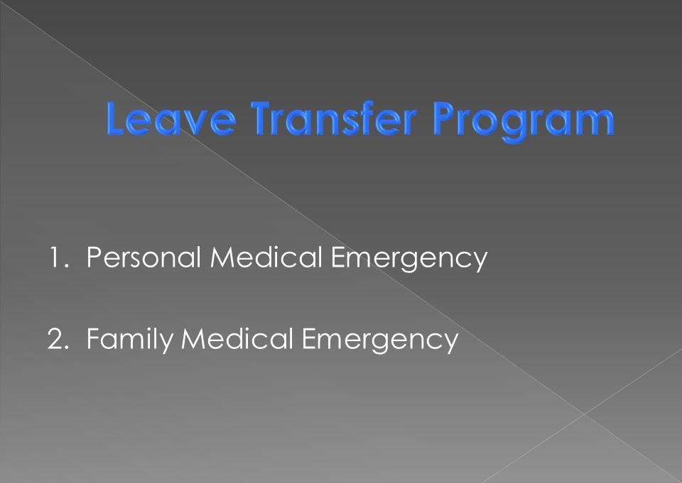 Leave Transfer Program