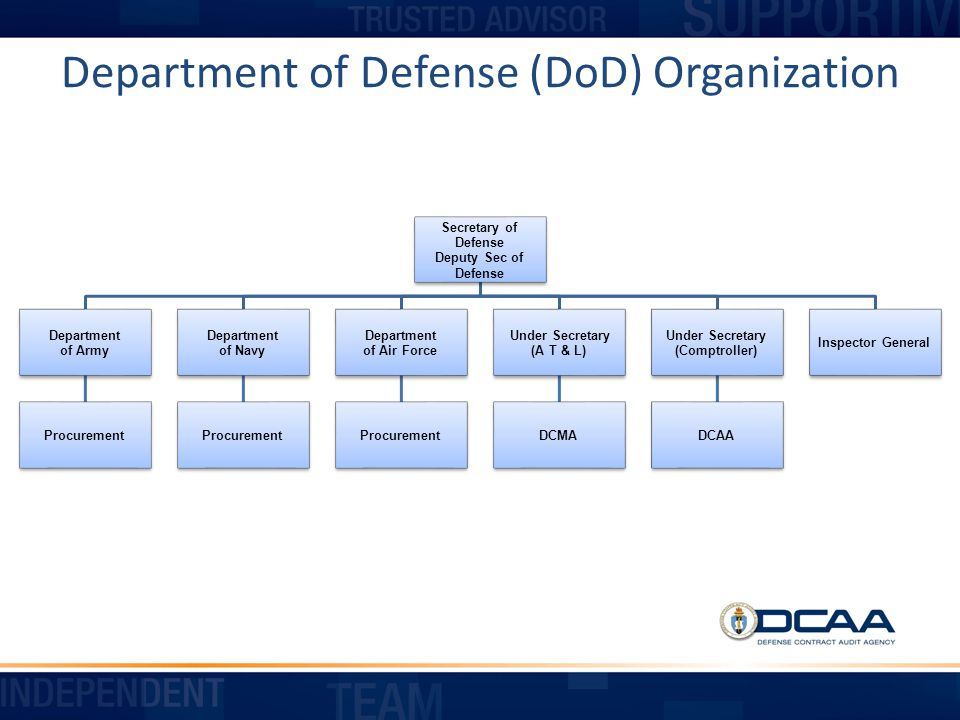 Department of Defense (DoD) Organization
