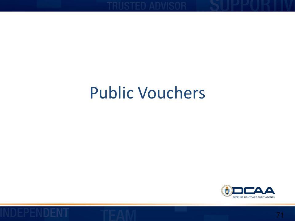 Public Vouchers