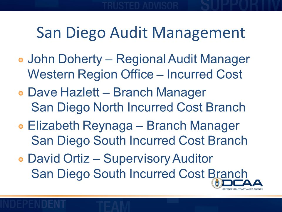 San Diego Audit Management
