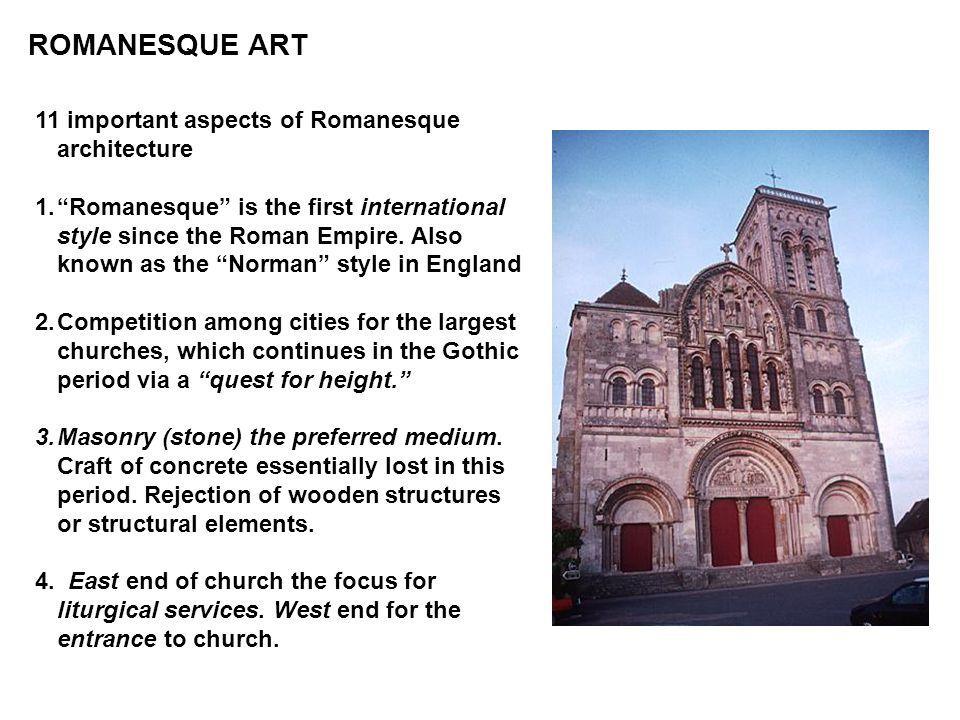 ROMANESQUE ART 11 important aspects of Romanesque architecture