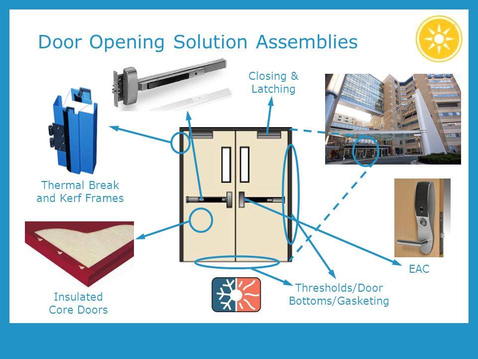 Door Opening Solution Assemblies