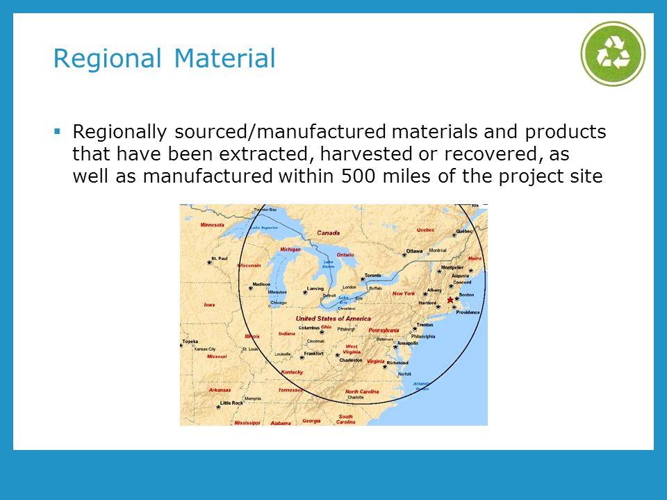 Regional Material