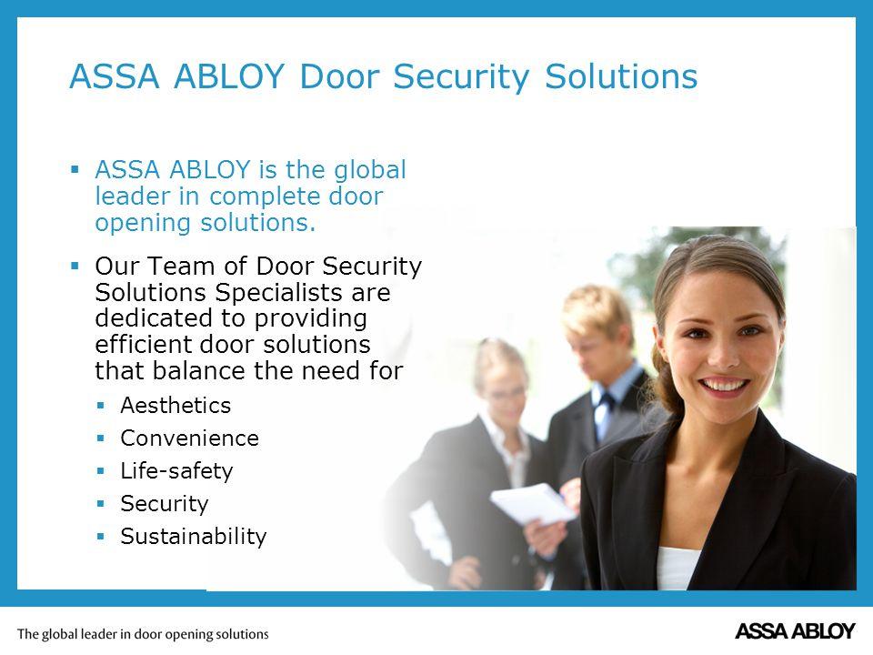 ASSA ABLOY Door Security Solutions