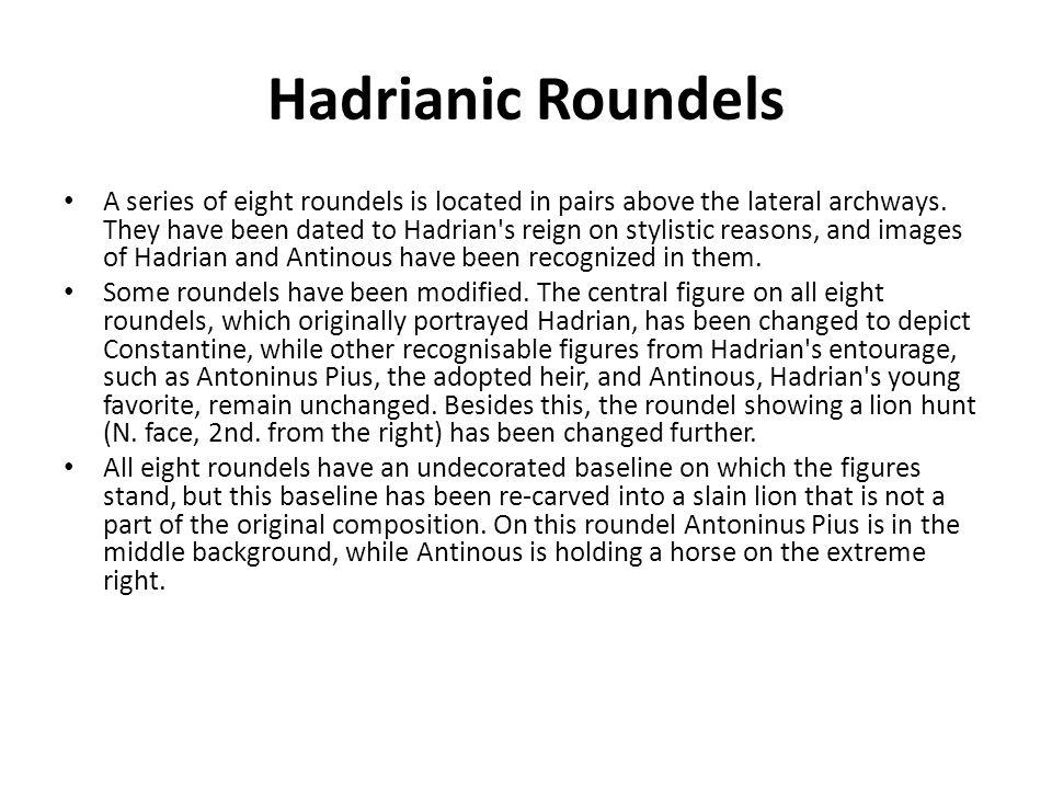 Hadrianic Roundels