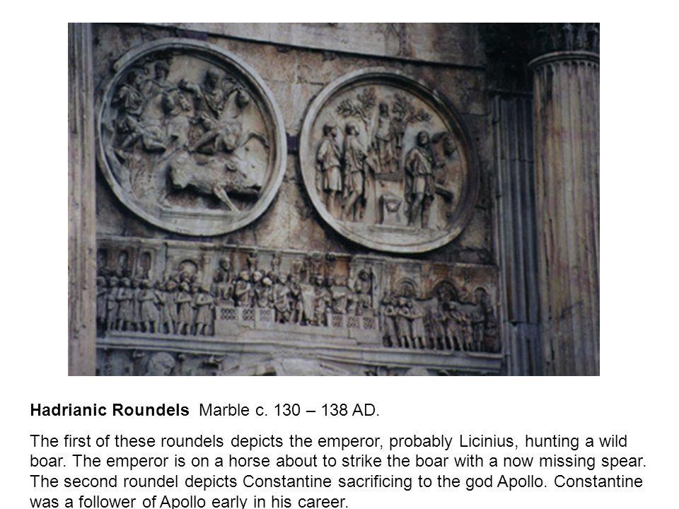 Hadrianic Roundels Marble c. 130 – 138 AD.