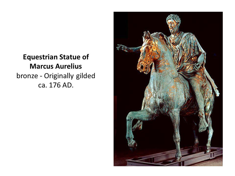 Equestrian Statue of Marcus Aurelius bronze - Originally gilded