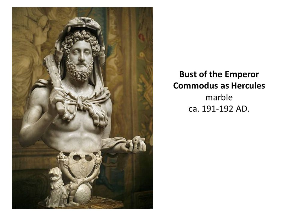 Bust of the Emperor Commodus as Hercules
