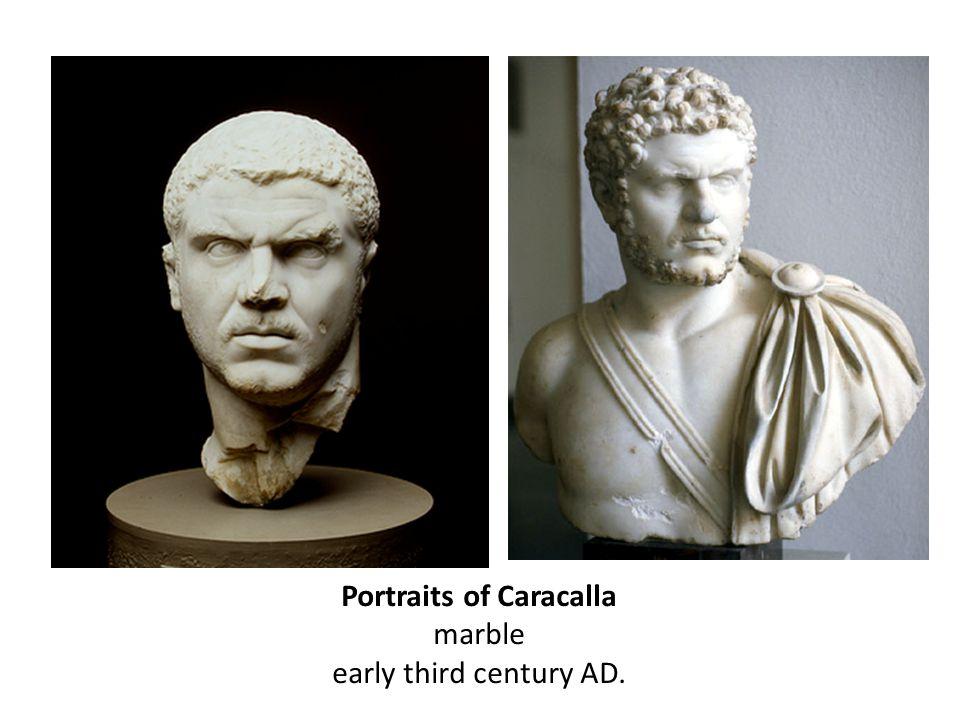Portraits of Caracalla