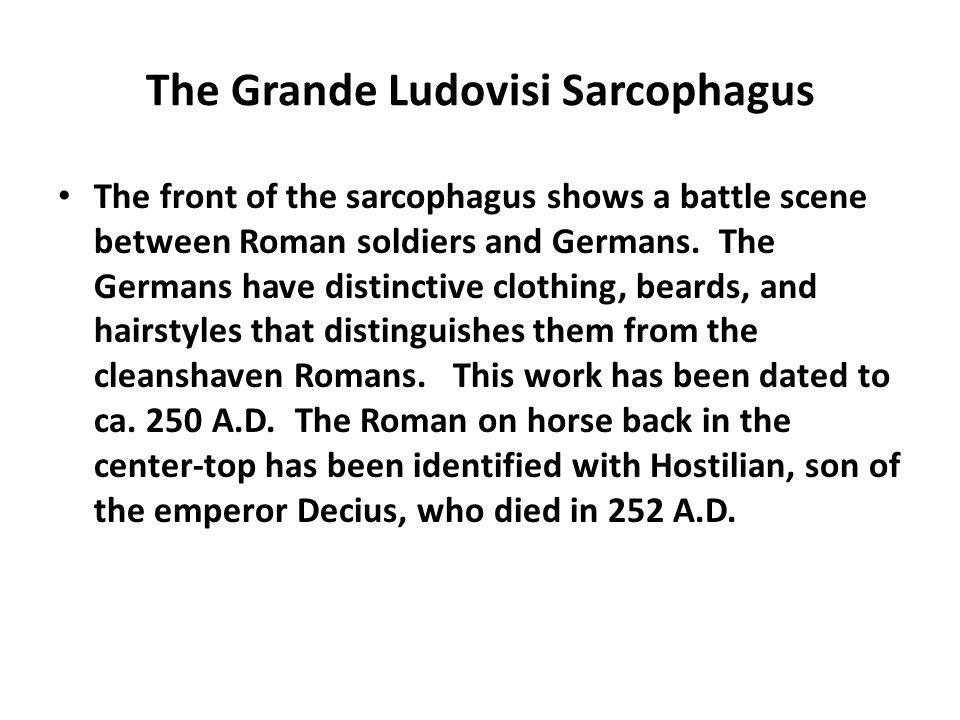 The Grande Ludovisi Sarcophagus