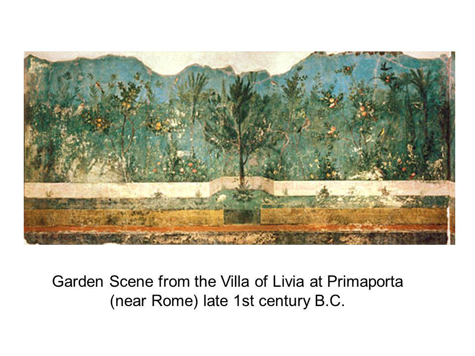 Garden Scene from the Villa of Livia at Primaporta