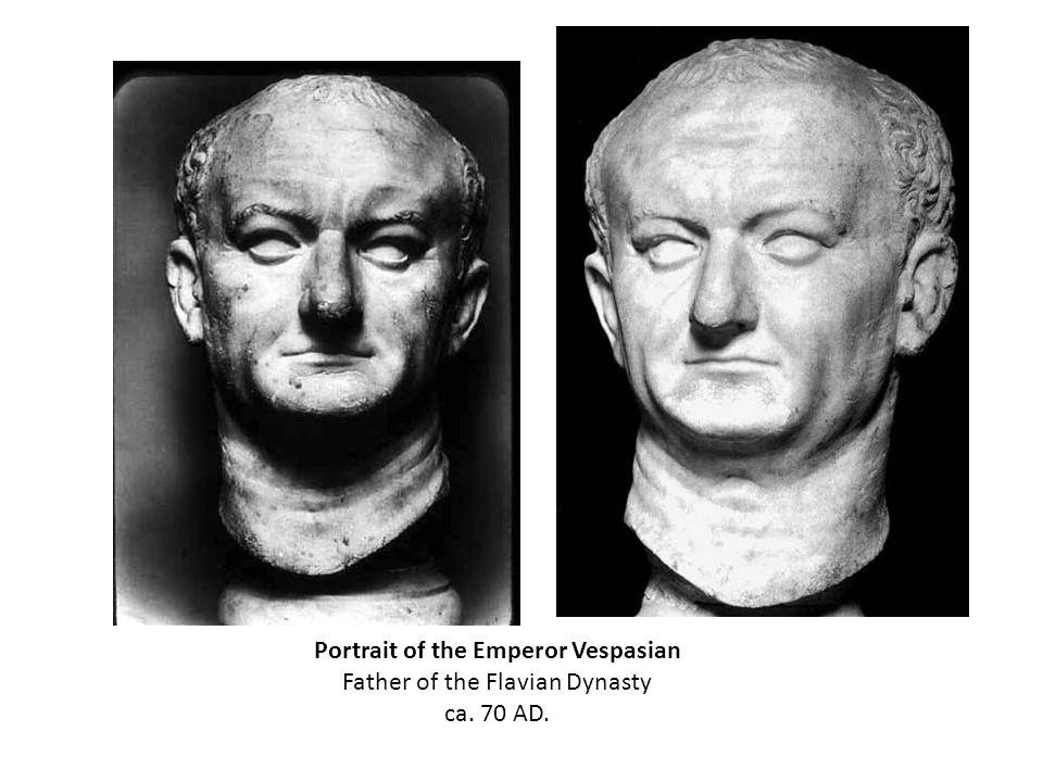 Portrait of the Emperor Vespasian