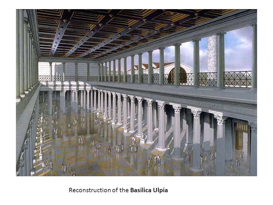 Reconstruction of the Basilica Ulpia